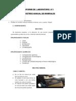 Primer Informe de Laboratorio de Preparacion Mecanica