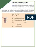 Mecanismos Basicos de La Transferencia de Calor