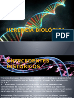 HERENCIA-BIOLÓGICA