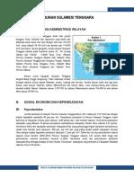 Profil Pembangunan Provinsi 7400SulTra 2013