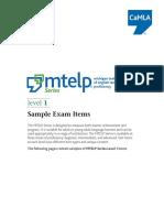 Mtelp Samples l1