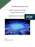 Historia Del Microprocesador