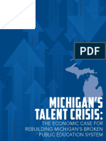 Michigan Achieves! 2016 Michigan State of Education Report