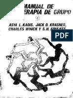 MANUAL DE PSICOTERAPIA DE GRUPO _ Asya L Kadis