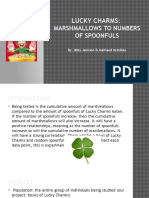 lucky charms stats ii - math work sample