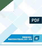 Cifras Feminicidio Inei 2011-2014