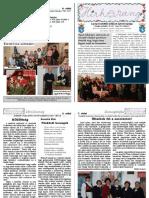 Hírharang - a Gyergyószentmiklósi Unitárius Egyházközség kiadványa