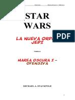 109 Star Wars - La Nueva Orden Jedi 02 - Marea Oscura I - Ofensiva