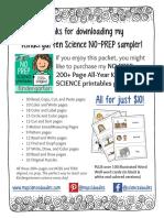 kindergarten printables- general