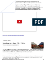 Identifique Los Valores CIF y FOB en Transacciones Comerciales _ Diario Comex _ Importación y Exportación Chile
