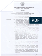 SK Dirjen No 2431 Tahun 2016 Tentang Penetapan Guru Profesional Provinsi Bengkulu