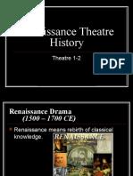 Renaissance Theatre History