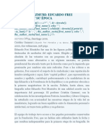 Couyoumdjian, j. Cristián Gazmuri Eduardo Frei Montalva y Su Época, HISTORIA Nº34, Santiago 2001.-(DOC)