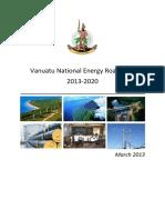 Vanuatu NationalEnergyRoadmap2013 2020