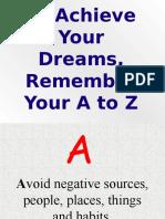 A2Z how to achieve success