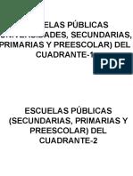 Escuelas Publicas en General de Cerro Colorado