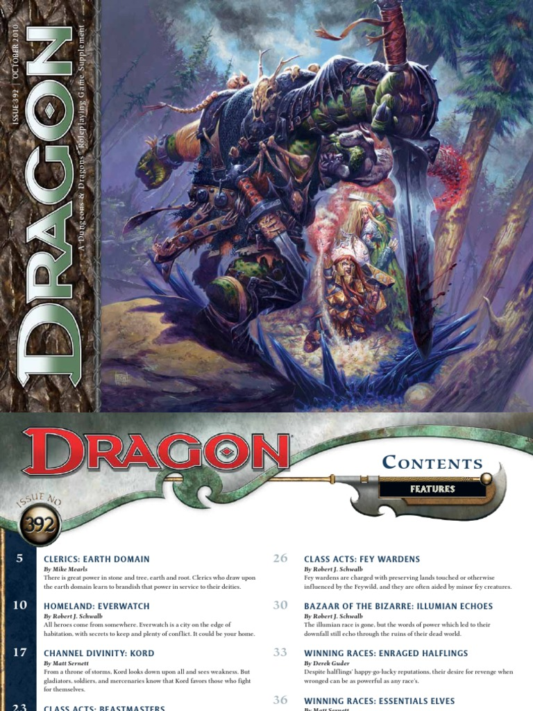 41561497-Dragon-392 pdf | Dungeons & Dragons | Religion And Belief