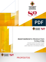 Mantenimiento Productvo Total