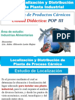 S 7. POP3. Localizacion y Dist. de Planta