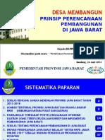 Pelatihan Desa-Perencanaan Pembangunan dengan Prinsip Desa Membangun 2014.pptx