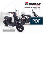 Manual de Repuestos Max - 125-2015