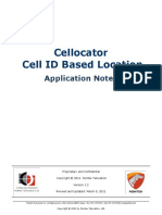 CellID Based Location Application Notes