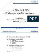 DUV Nitride LEDs - Challenges and Perspectives