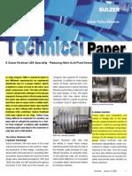 Sulzer Technical Paper