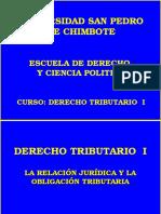 Clase Nº 5 La Relación Jurídica Tributaria y La Obligacion Tributaria