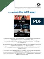 ECU Carrera Realizacion Cine 2016