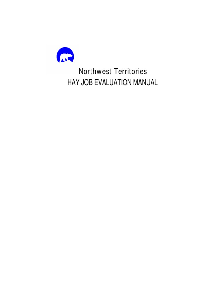 Hay Job Evaluation Manual Best Practice pdf | Employment | Health Care