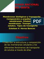 Membranas biolgicasI