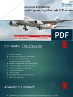 Msc Aerospace Engineering Presentation