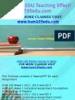 HUM 105 EDU Teaching Effectively/hum105edu.com