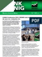 Weinig news noticias Boletin 192