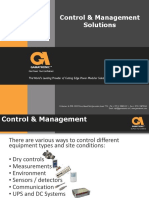 Control and Management Presentation