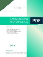 EXCABADORA HIDRAULICA