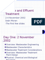 Sewage and Effluent Treatment Presentation Taster