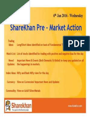 tarpininkavimas dėl opcionų sharekhan