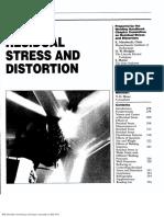 Residual Stresses & Distorsion