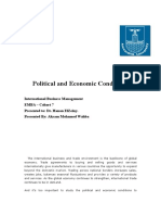 Political and Economic Conditions