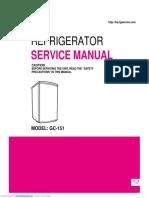 LG - GC 151 Manual