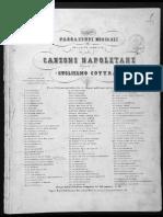 Cottrau Guglielmo Passatempi Musicali Raccolata Completa