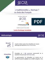 Entreprises Traditionnelles vs Startups