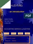 Audit an Introduction