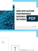 How Application Performance Depends on Your Network