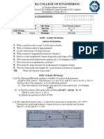 Question Paper-1 -FEA Model Exam