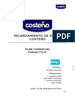 Plan Comercial - Arroz costeño