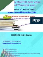 ISCOM 476 MASTER peer educator/iscom476master.com