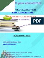 IT 206 CART peer educator/it206cart.com